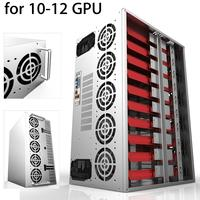 Efficiency 1600W Modular PC Power Supply 10 12 GPU 12V 24PIN 8PIN For Miner Mining High