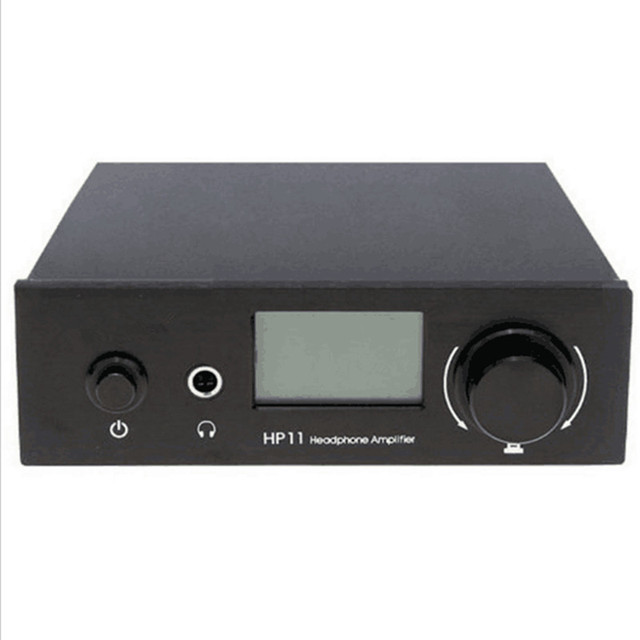 R-068 Musiland HP11 Programmable digital Headphone AMP 6.35mm earphone amplifier 1 * RCA input 2*RCA output