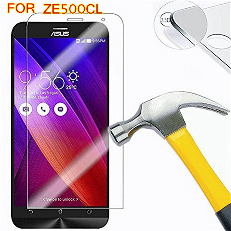 ZE500CL 9H Tempered Glass for ASUS Zenfone 2 Z00D Protector Protective Film ZE500CL ZE500 500CL Protector Protective Film Case