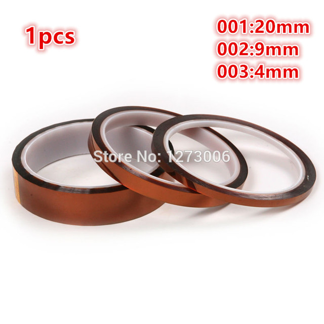 1Pcs 20/9/4mm High Temperatur BGA Resistanting Tape Car Home Electric Appliance Anti-heat Polyimide Kapton Tape Car-styling HOT