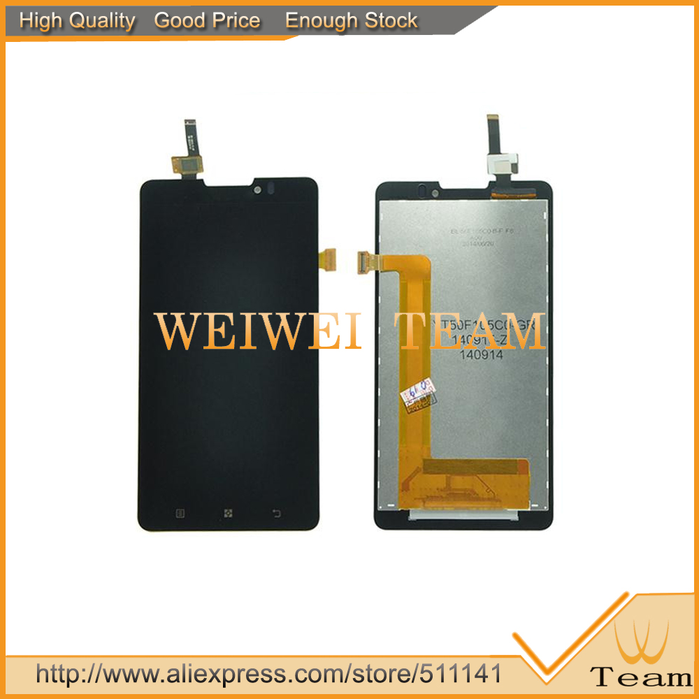 LCD Display + Touch Screen Digitizer Assembly For Lenovo P780 Replacement Free Shipping