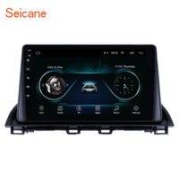 Seicane Android 8,1 2Din автомобильный Радио Мультимедийный видео плеер gps для Mazda 3 Axela 2013 2018 поддержка SWC DVR OBD WiFi зеркальная ссылка