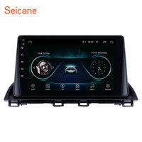 Seicane Android 8.1 2Din Car radio Multimedia Video Player GPS For Mazda 3 Axela 2013 2018 support SWC DVR OBD wifi Mirror Link