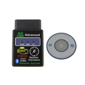 Image 5 - ELM327 Bluetooth OBD2 רכב אבחון סורק עבור אנדרואיד מתאם Elm 327 V2.1 Bluetooth OBD 2 קוד Reader אבחון כלי