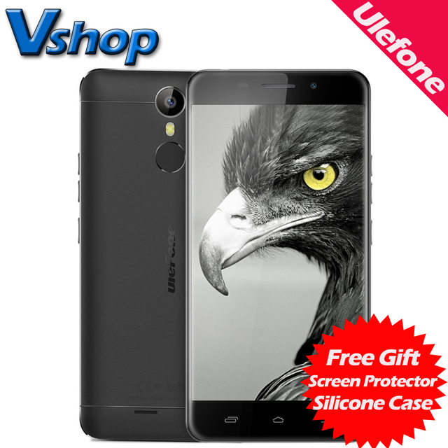 Original Ulefone Metal Lite 3G Mobile Phones Android 6.0 1GB RAM 16GB ROM Quad Core Smartphone 720P Dual SIM 5.0 inch Cell Phone