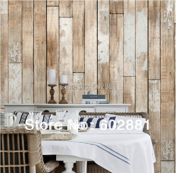 6041 Natural Wood Panel Print Pure Paper Wallpaper High