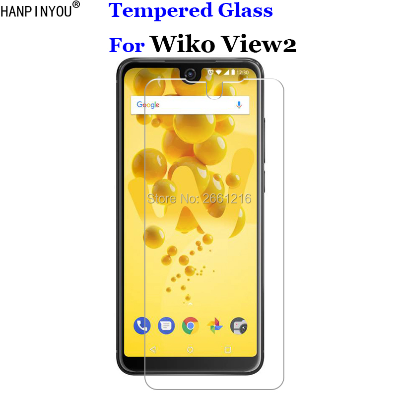 For Wiko View2 Tempered Glass 9H 2.5D Premium Screen Protector Film For Wiko View 2 6.0