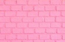 Huayi chegada nova arte fotografia tecido rosa parede de tijolos pano de fundo da foto do retrato recém-nascidos fundo d-7654