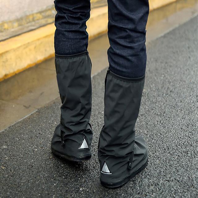 1PC Raincoats Non-slip Shoe Cover Waterproof reusable Motorcycle Cycling Bike Rainwear Shoes Rain Covers Easy to ride for rider8