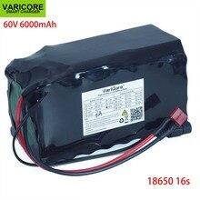 VariCore 16S2P 60V 6Ah 18650 Li ion batterie Pack 67.2V 6000mAh Ebike électrique vélo Scooter avec 20A décharge BMS 1000 watts