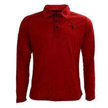 man autumn spring fashion long sleeve fitness t shirt tees t-shirt Embroidery deer wine red