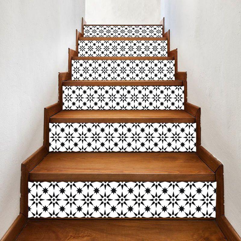 6Pcs/Set Traditional Stairs Sticker Kitchen Waterproof ... on Traditional Kitchen Wall Decor  id=41038