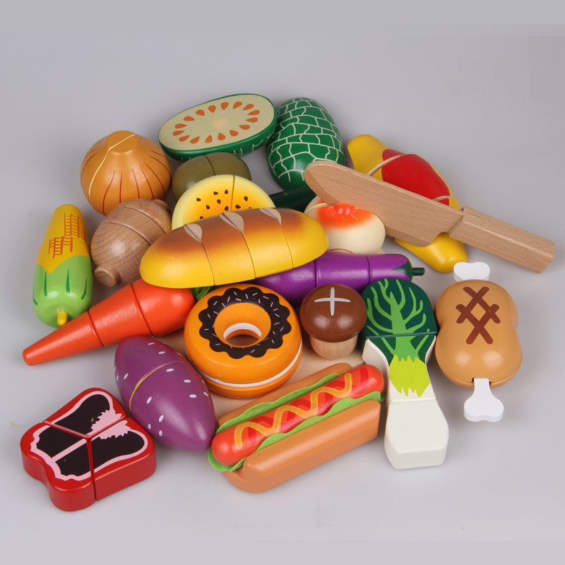 Toy Food For Toddlers : Online buy wholesale wooden kitchen from china