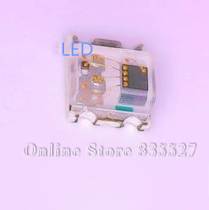 3000PCS/LOT 2012 0805 0807 flash fast full color colorful RGB lamp beads SMD red blue green LED light emitting diode leds