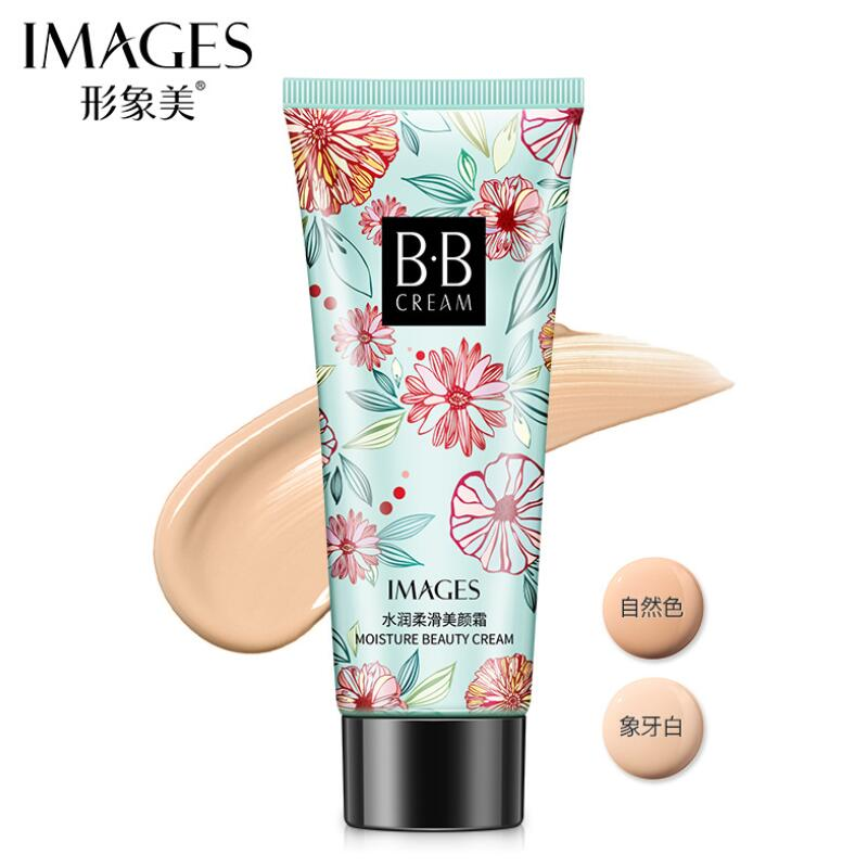 BB Cream Moisturizing Whitening Easy To Wear  Concealer Foundation Base Makeup Bare Face Cosmetics 2 Colors