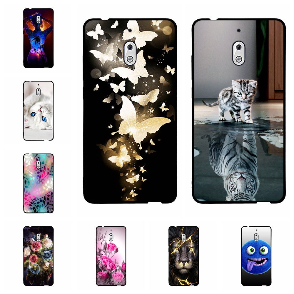 Silicon Case for <font><b>Nokia</b></font> 2.1 <font><b>3.1</b></font> 5.1 Plus 7.1 Case Soft TPU <font><b>Back</b></font> Phone <font><b>Cover</b></font> Shockproof Printing Coque Bumper Housing image