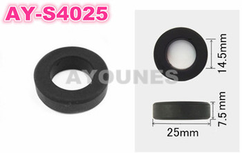 wholesale 200pieces rubber seals 25*7.5*14.5mm fuel  injector repair kits for nissan  (AY-S4025)