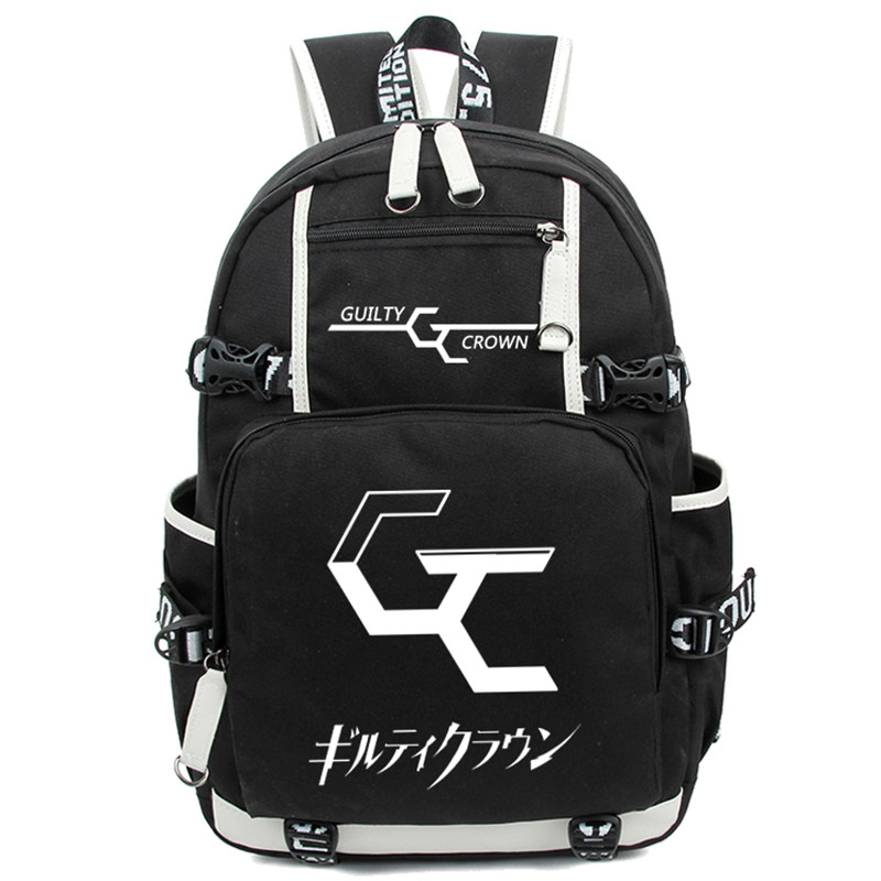 Guilty Crown Shoulder School Backpack Luminous Ouma Shu Cosplay Cartoon Boys Girls Schoolbag Rucksack Free Shipping jane ouma alternative approaches to pedagogy