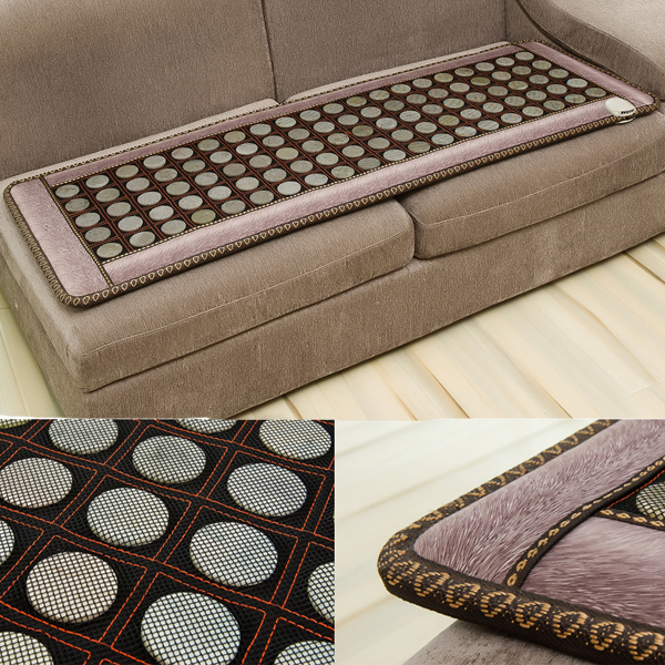 Natural stone heated sofa cushion seat parents gift Christmas present 2016 healthy mattress heating 50cmX150cm