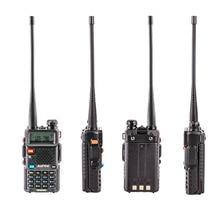 Mais nova atualização baofeng uv 5r com três bandas 136 174mhz/200 260mhz/400 520 walkie talkie ham comunicador de rádio portátil, mhz