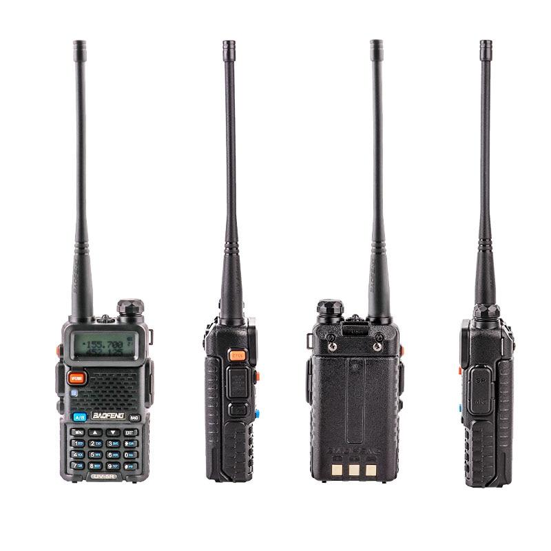 Newest upgrade baofeng uv 5r with Three Bands 136 174Mhz/200  260Mhz/400 520Mhz Portable Walkie talkie ham CB Radio  CommunicatorWalkie Talkie