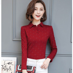 BOBOKATEER Long Sleeve Tshirt Women T Shirt Cotton Tee Shirt Femme Solid Casual T-shirt Women Tops Poleras Camisetas Mujer 2019 3