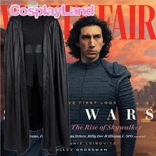 Star Wars 9 The Rise of Skywalker Kylo Ren Cosplay Costume Halloween Costumes For Adult Men Custom Made Suit Outfit