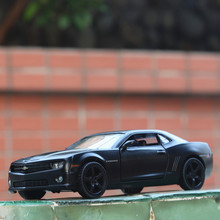 New 1:32  Camaro Alloy Car Model Diecasts & Toy Vehicles Toy Open the door Cars Kid Toys For Children Gifts 1 32 diecasts