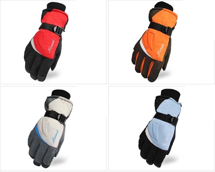 GLV872 The new winter ski font b gloves b font Prevent slippery wear rub keep warm