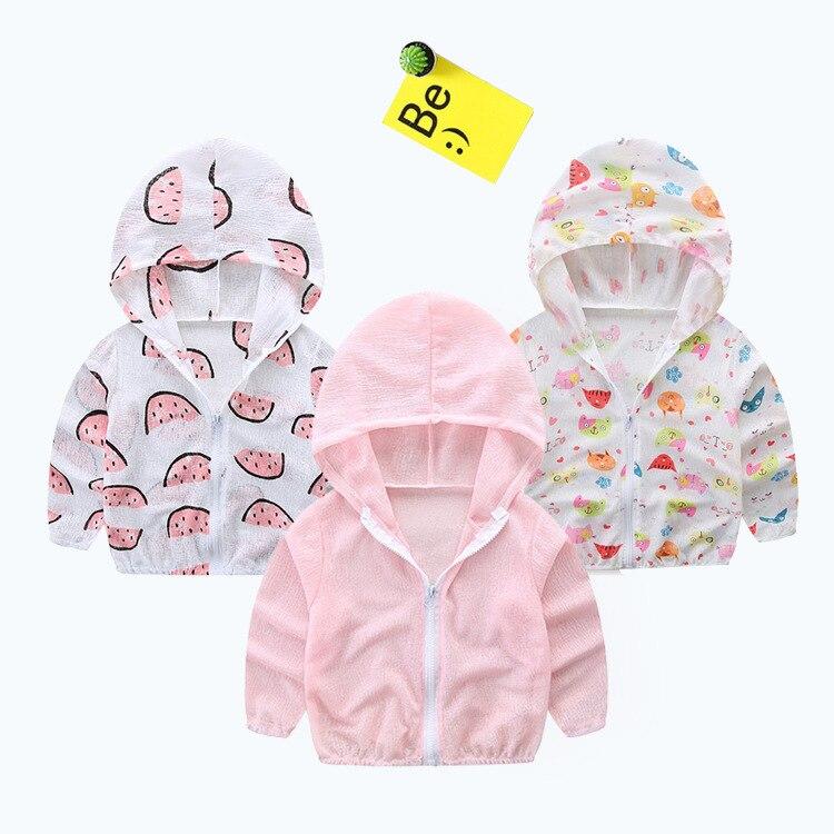 629e062ab Kids Bobo Choses 2018 Summer Boys Coats Ball Banana Print Baby Girls ...