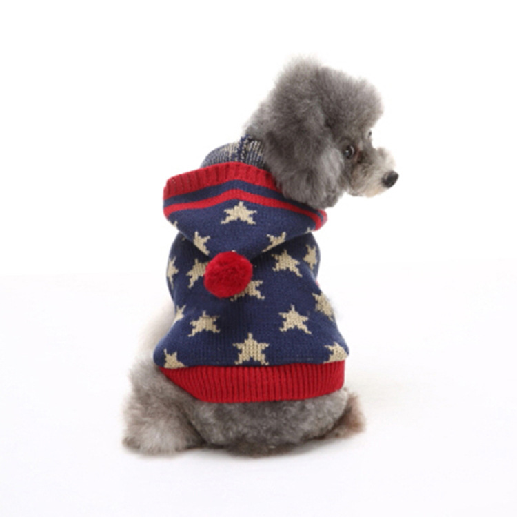 Corazón lindo invierno Cálido Pet cat dog Sweater sweatershirt ...