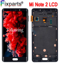 Xiaomi Mi Note 2 LCD Display Touch Screen Digitizer Assembly Note2 Display 1920x1080 For 5.7 Xiaomi Mi Note 2 LCD Replacement 5d10m42869 b140han04 2 ips matte antiglare 1920x1080 fhd matrix for laptop 14 0 lcd screen led display replacement
