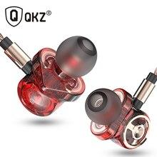 מקורי QKZ CK10 באוזן אוזניות 6 דינמי נהג יחידת אוזניות סטריאו ספורט עם מיקרופון HIFI סאב אוזניות אוזניות