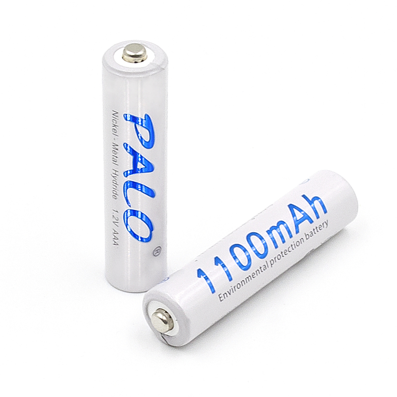 2 slots nimh battery charger for aa aaa rechargeable battery with 2pcs aaa 1100mah rechargeable battery