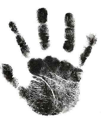 Emmababy Newborn Footprint Ink Pad Handprint Non-Toxic Clean-Touch Pearhead Inkless Keepsake Treasure Memories
