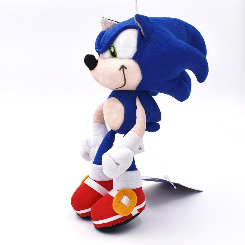 20cm Sonic Boom Plush Cartoon PP Cotton Sonic Soft Blue Plush For Children Birthday Gifts Free Shipping