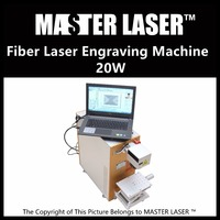 Lower Price 20W Fiber Portable 220V Input Max Laser With DELL DESKTOP Computer Concrete Engraving Machine