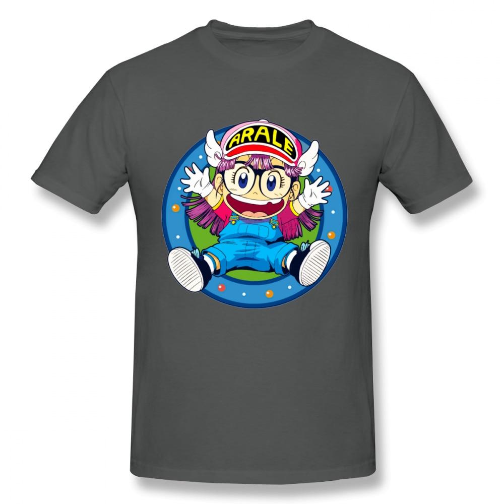 High Q Arale Norimaki Dr Slump Unique Design T Shirt Unisex Casual Tee Shirt Fashion Anime Camiseta in T Shirts from Men 39 s Clothing