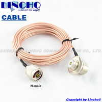 3M RG316 Coaxial Cable For Mobile Radio Extension N Male And SO239 Connector For Yaesu ICOM