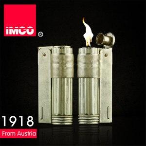 Image 2 - Classica Genuine IMCO Accendino A Benzina Generale Benzina Olio Più Leggero Di Rame Originale Sigaretta Gas Lighter Cigar Fuoco Rame Puro