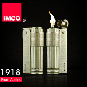 Image 2 - Classical Genuine IMCO Petrol Lighter General Lighter Original Copper Oil Gasoline Cigarette Gas Lighter Cigar Fire Pure Copper