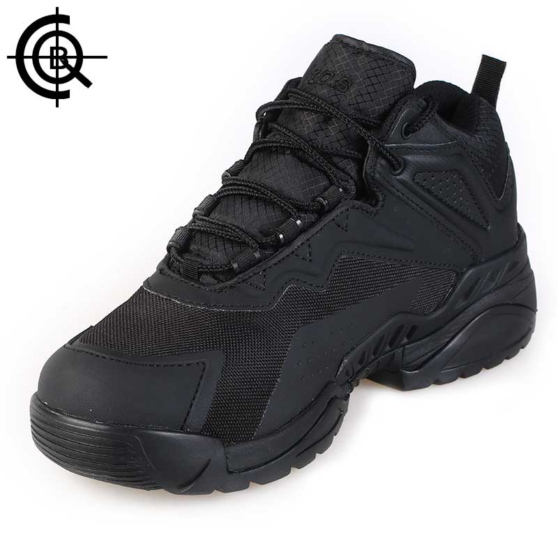 CQB Outdoor Hiking Shoes Stab-resistant Tactical Winter Sneakers Men Wear-resisting Trekking Boots  CXZ0313