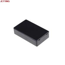 Czarne plastikowe pudełko projektowe obudowa obudowa oprzyrządowania elektronicznych 85*50*21mm z tworzywa sztucznego pudełko projektowe 1 sztuk tanie tanio Elektryczne Plastic Project Box