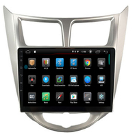 16G/32G Rom+Glonass+Android 9.1 2 DIN Car DVD GPS for Hyundai Solaris 2011 2012 2014 2015 2016 radio video player wifi IPS