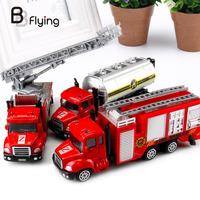 1: Red Alloy Car Simulation Vehicle Kids Children Toddlers Educational Toys Gift