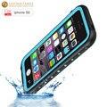 Original para o iphone se case vida mergulho à prova d' água à prova d' água proteção case para iphone 5 5s 4.0 polegadas com capa impressão digital