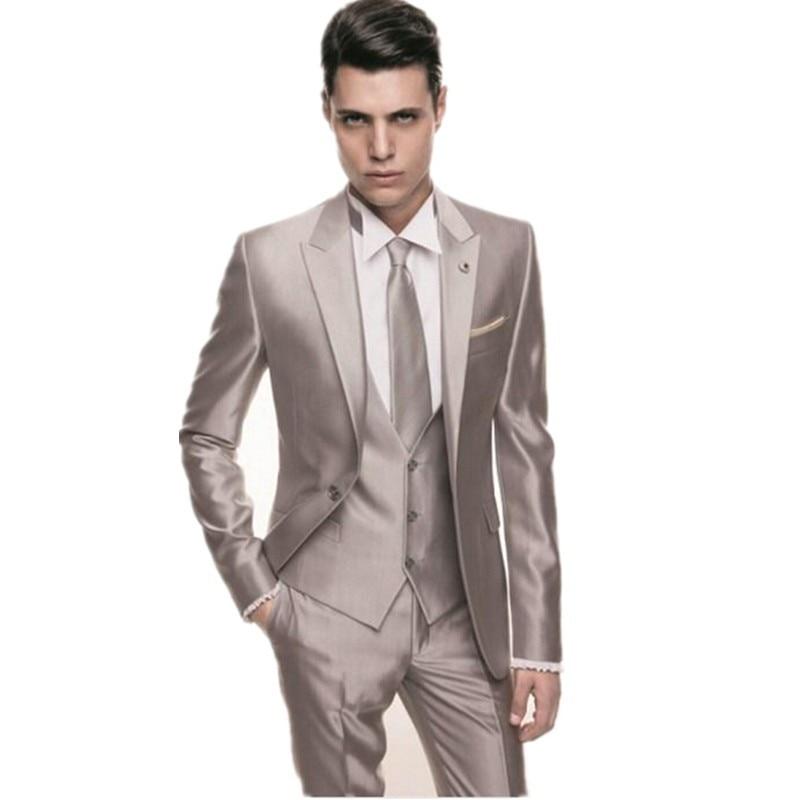 Khaki Slim Fit Suit | My Dress Tip