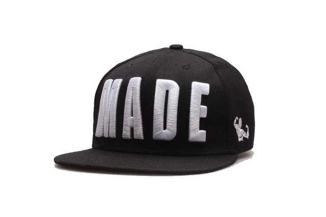 2 Places Logo Embroidery Custom Snapback 3D And Flat Embroidery Sample  Custom Black Made Cap Personalized Adjustaball DIY Hats 0c1e9781fd9c