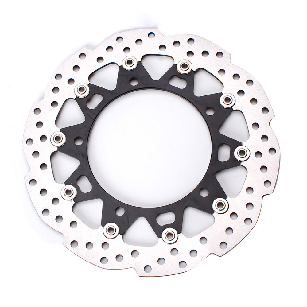 300mm Floating Motorcycle Front Brake Disc Rotor For Honda CB190R Motorbike Accessories Aluminum & Stainless Steel 320mm floating motorcycle brake disc disks rotor for ktm duke 125 200 390 duke 2013 2016 motorbike front brake disc disks