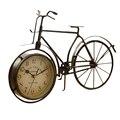 Винтажные железные велосипедные настольные часы  классические  не тикают  бесшумные  ретро декоративные  велосипедные часы для гостиной  ко...